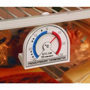 Fridge / freezer Thermometer Hangs Or Stands