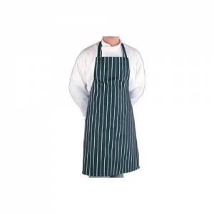 Whites Extra Large Bib Apron Butchers Stripe