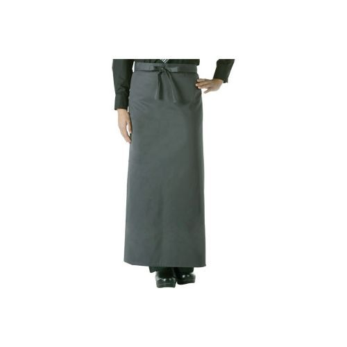Chef Works Bistro Apron Charcoal Regular