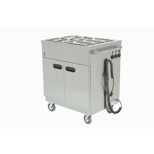 Parry Mobile Hot Cupboard With Bain Marie 780w X 620d X 970h Model 1887
