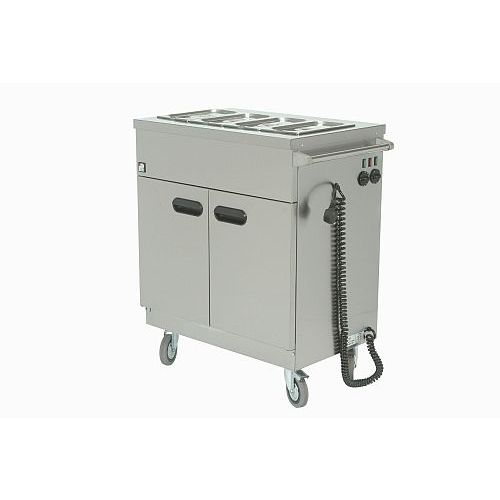 Parry Mobile Hot Cupboard With Bain Marie 780w X 535d X 970h Model 1894