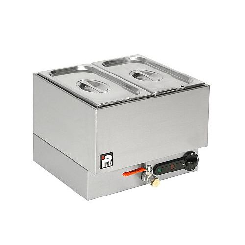 Parry Alpha Wet Well Bain Marie 2 Pot Model GBM2W