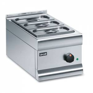 Lincat Silverlink 600 Dry Heat Bain Marie With 3 Containers BM3A