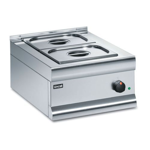 Lincat Silverlink 600 Dry Heat Bain Marie With 2 Containers BM4A