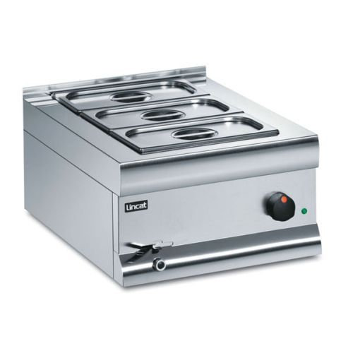 Lincat Silverlink 600 Wet Heat Bain Marie With 3 Containers BM4BW