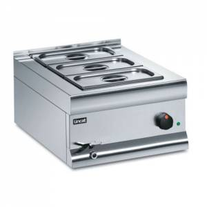 Lincat Silverlink 600 Wet Heat Bain Marie Base Unit BM4W