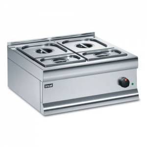 Lincat Silverlink 600 Dry Heat Bain Marie With 6 Containers BM6C