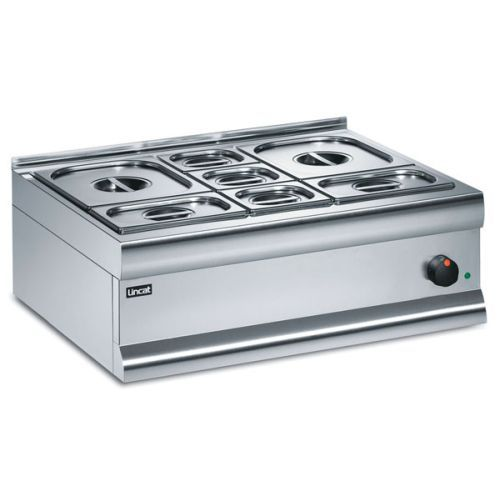 Lincat Silverlink 600 Dry Heat Bain Marie With 8 Containers BM7A