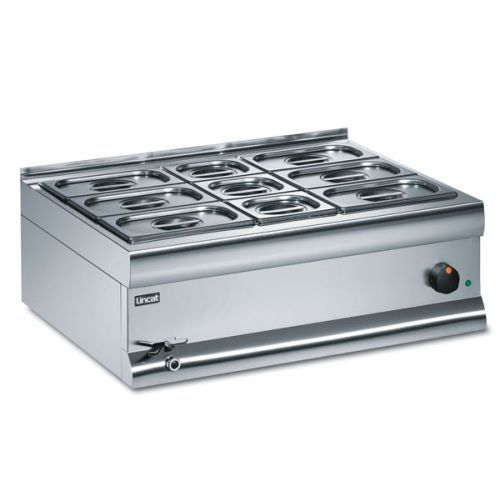 Lincat Silverlink 600 Wet Heat Bain Marie With 8 Containers BM7AW