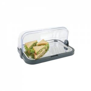 Cooling Display Tray Roll Top - 205x320x440mm (includes 2 Coolers)