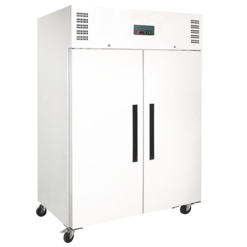 Polar Solid Double Door REFRIGERATOR White Exterior - 1200Ltr