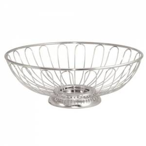 Bread/fruit Bowl St/st - 90hx255dia Mm