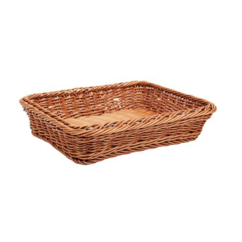 Rattan Basket Brown Polypropylene - Gn 1/2 65mm