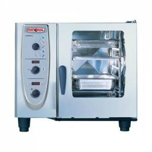 Rational Combi Steam Oven 6 Grid 1 / 1 Gn - Gas Model CM61G