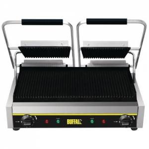 Buffalo Bistro Contact Grill - Double (ribbed/ribbed)