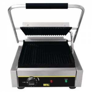 Buffalo Bistro Contact Grill - Large (ribbed/ribbed)