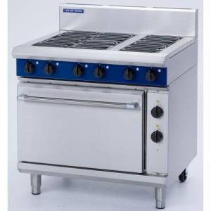 Blue Seal 6 Burner Electric Range Static Oven Model E506D