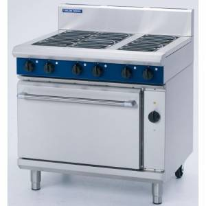 Blue Seal 6 Burner Electric Range Convection Oven Model E56D