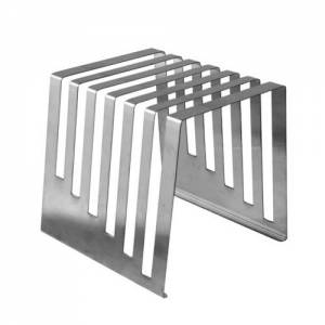 "Stainless Steel Rack - Holds 6 0.5"" Boards"