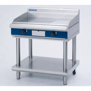 Blue Seal Heavy Duty Electric Griddle With Leg Stand 900mm Wide X 812mm Deep X 915mm High Model EP5