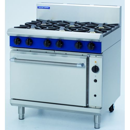 Blue Seal 4 Burner Gas Range With Gas Convection Oven Model G56C
