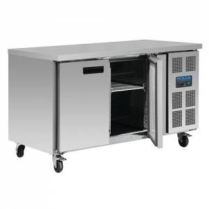 Polar 2 door counter freezer G599