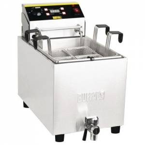 Buffalo Pasta Cooker 8ltr With Tap With Timer