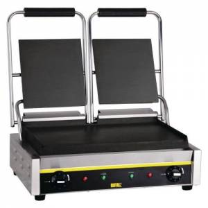 Buffalo Bistro Contact Grill - Double Flat Plate