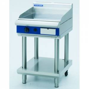 Blue Seal Heavy Duty Gas Griddle With Leg Stand 600mm Wide X 812mm Deep X 915mm High Model GP514-LS