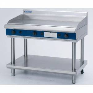 Blue Seal Heavy Duty Gas Griddle With Leg Stand 1200mm Wide X 812mm Deep X 915mm High Model GP518-L