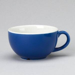 Churchill New Horizons Blue Cappuccino Cup 7oz