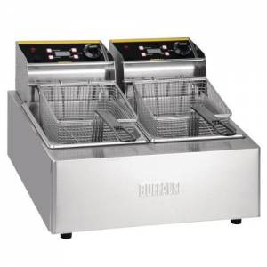 Buffalo Double Fryer - 2x5ltr 2x2.8kw
