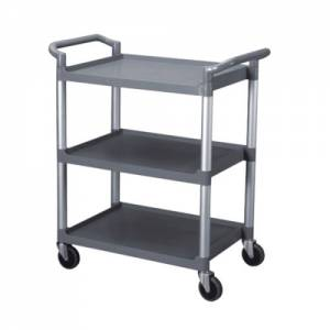 Clearing trolley grey 851mm X 410mm X 940mm