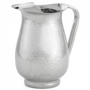 Remington Beverage Pitcher With Ice Guard 18-8 Stainless Steel 2 Qt