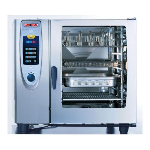Rational Electric Self Cooking Centre 10 Grid 2 / 1 Gn Model SCC102