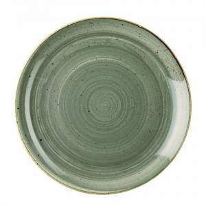 """Churchill Stonecast Grey Evolve Coupe Plate 11.25"""""""