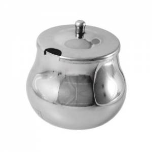 Arabian Sugar Bowl Stainless Steel W / lid 8oz