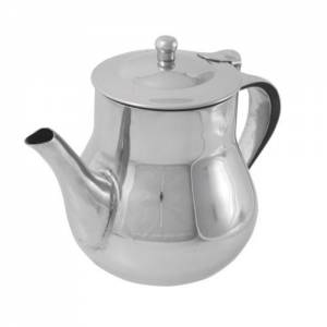 Arabian Tea Pot Stainless Steel 13oz