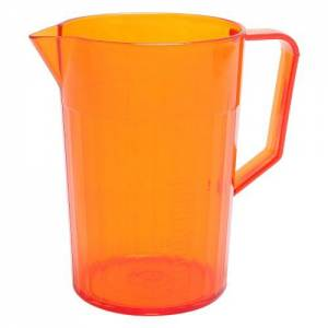 Copolyester 1.5 Pint Jug Trans Orange