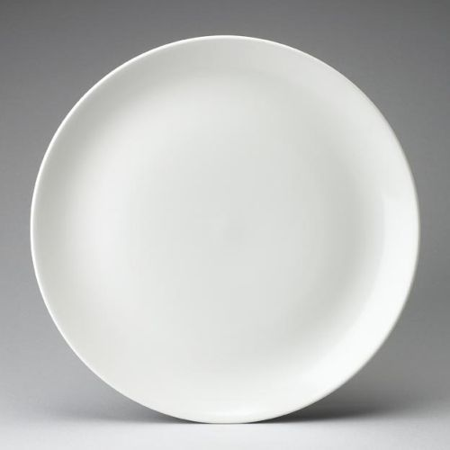 Churchill Evolve White Large Coupe Plate