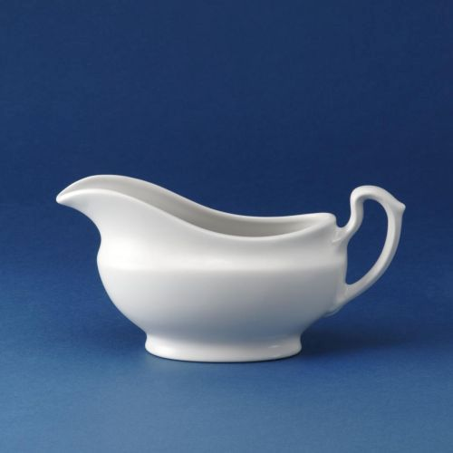 Churchill White Gravy Boat