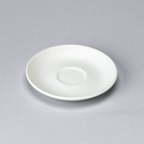 Churchill White Small Coupe Saucer