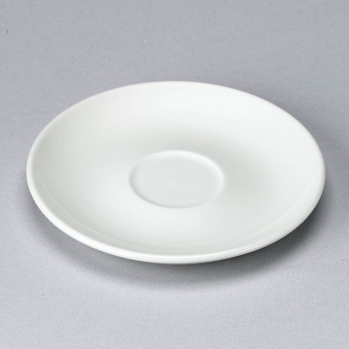 Churchill White Large Coupe Saucer