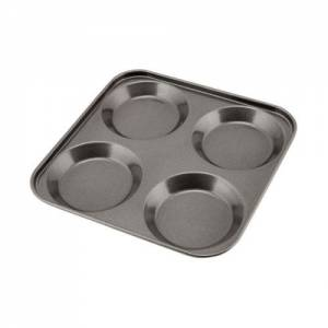 Carbon Steel Non-stick 4 Cup Yorkshire Pudding Tray