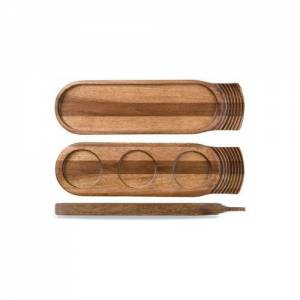 Churchill Igneous Wooden Rectangular Tray
